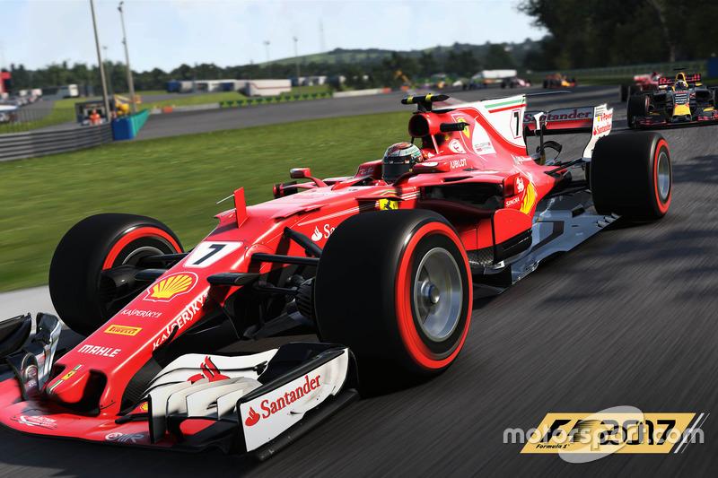 Actualización de decoraciones en el 'F1 2017'