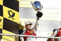 Podium: le deuxième Mike Rockenfeller, Audi Sport Team Phoenix, Audi RS 5 DTM