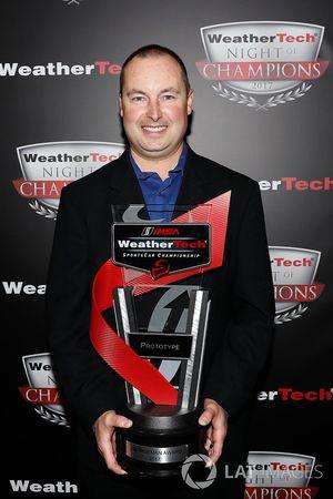 John Church met Jim Trueman Award trophy