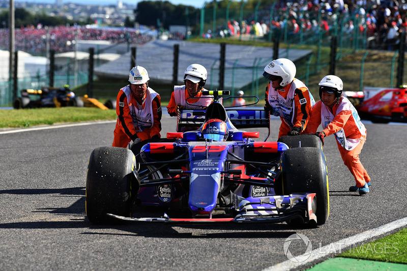 Retired: Carlos Sainz (Toro Rosso)