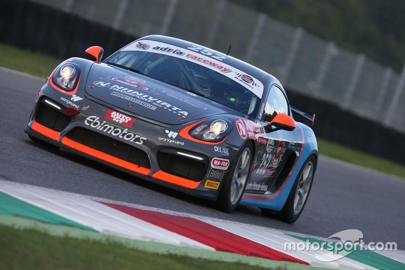 Porsche Cayman-GT4 #252, Ebimotors: Sabino Marco De Castro