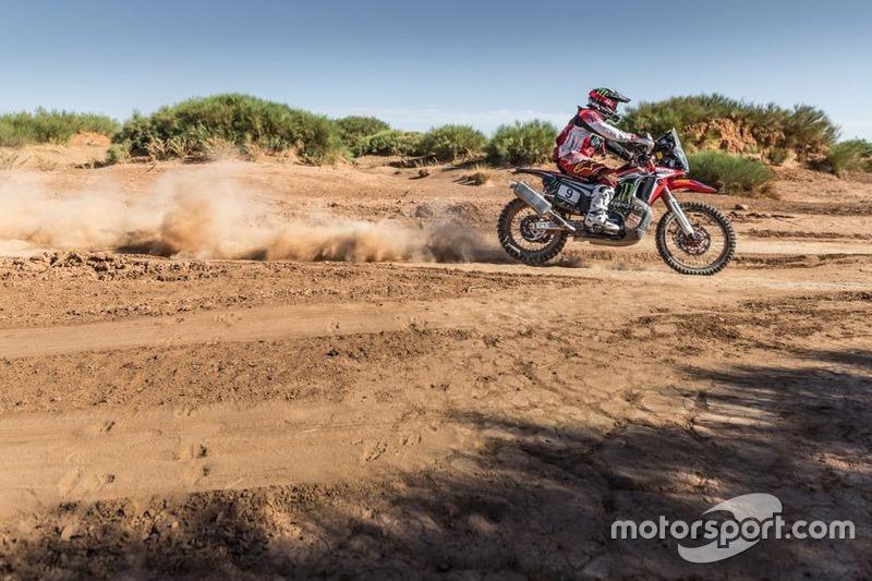 #9 Honda HRC: Paulo Gonçalves