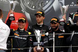 Podium: segundo #84 Mercedes-AMG Team HTP Motorsport, Mercedes-AMG GT3: Maximilian Buhk, Franck Pere