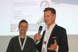 Pascal Freudenreich, CEO Carbon Conncet, und Tom Lüthi
