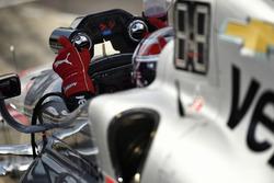 Will Power, Team Penske Chevrolet cockpit