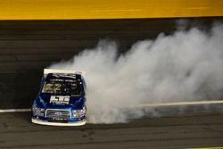 Austin Cindric, Brad Keselowski Racing Ford spins