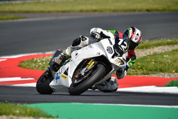 #12 KSB One Racing, BMW HP 4 1000: Raimo Kesseli, Tapio Nevala, Magnus Collin