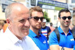 Philippe Sinault, team manager de Signatech Alpine