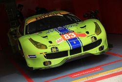 #83 DH Racing Ferrari 488 GTE: Tracy Krohn, Nic Jonsson, Andrea Bertolini