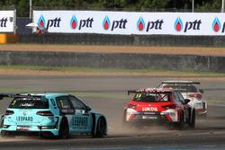James Nash, Lukoil Craft-Bamboo Racing, SEAT León TCR, Rob Huff, Leopard Racing Team WRT, Volkswagen Golf GTi TCR