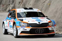 Paolo Oriella, Sandra Tommasini, Skoda Fabia R5, Rally Team SRL