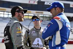 Dale Earnhardt Jr., JR Motorsports Chevrolet, William Byron, JR Motorsports Chevrolet and Elliott Sa