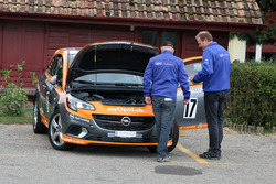 Christian Zimmermann, Opel Corsa OPC, Flammer Speed Team, Inspection technique