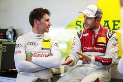 Loic Duval, Audi Sport Team Phoenix, Audi RS 5 DTM e Mike Rockenfeller, Audi Sport Team Phoenix, Audi RS 5 DTM