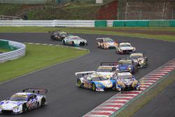 #5 Team Mach Toyota MC86: Natsu Sakaguchi, Kiyoto Fujinami, #19 Team WedsSport Bandoh Lexus LC500: Yuhi Sekiguchi, Yuji Kunimoto crash