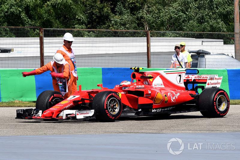 Маршали, Ferrari SF70-H Кімі Райкконена