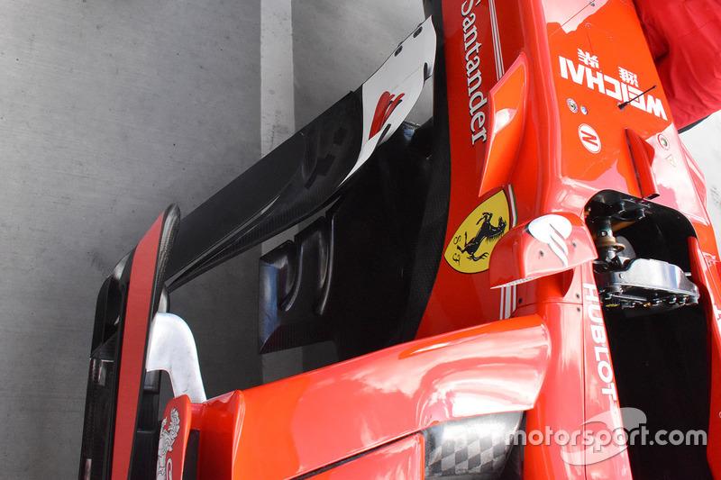 Бокові понтони Ferrari SF70-H