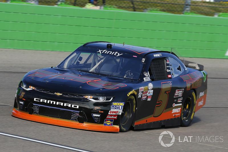 Michael Annett, JR Motorsports Chevrolet