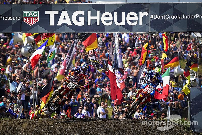 Jeffrey Herlings y Tony Cairoli, Red Bull KTM Factory Racing