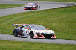 #43 RealTime Racing, Acura NSX GT3: Ryan Eversley, Tom Dyer; #93 RealTime Racing, Acura NSX GT3: Pet