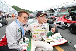 Race winner Andre Lotterer, Team Tom's
