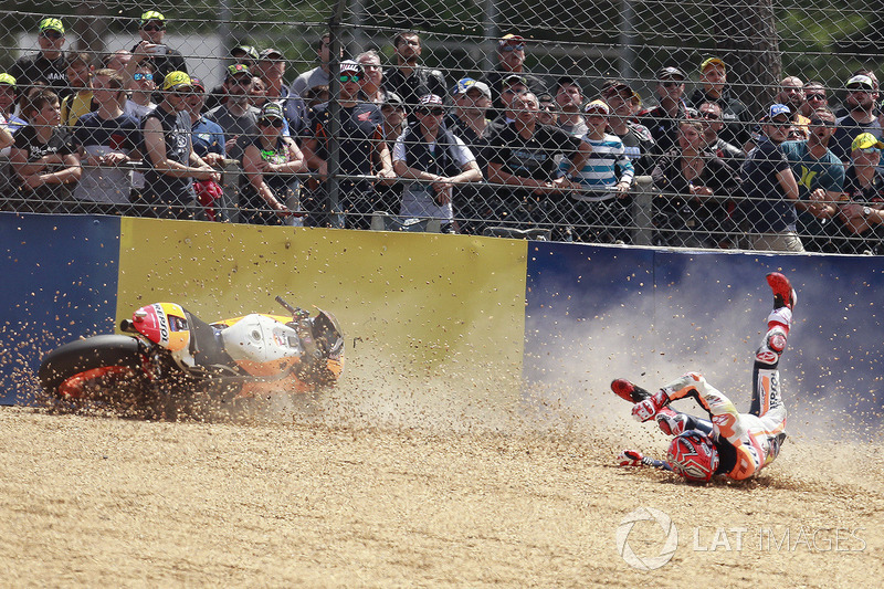 Marc Marquez, 24 crashes