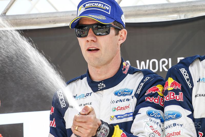Il vincitore Sébastien Ogier, M-Sport