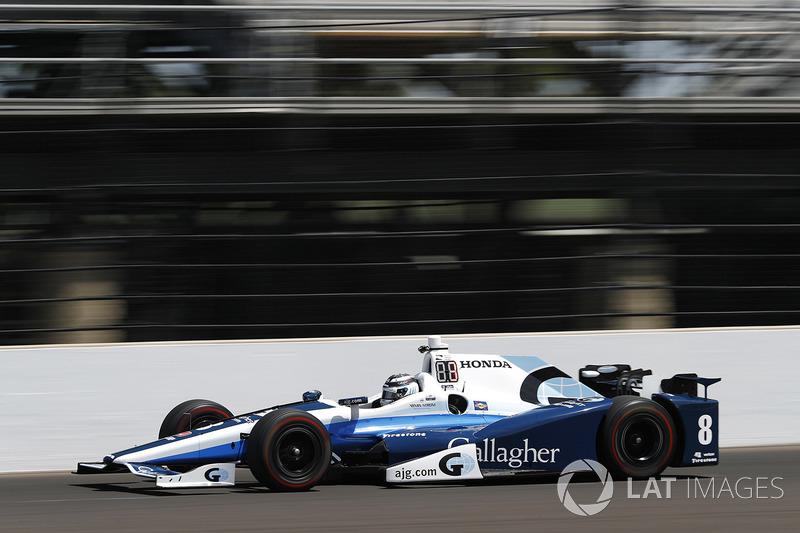 4. Max Chilton, Chip Ganassi Racing, Honda