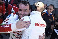 Michelisz Norbert a pole után