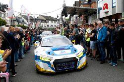 #5 Phoenix Racing, Audi R8 LMS: Frank Stippler, Mike Rockenfeller, Nicolay Møller Madsen, Dennis Bus