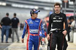 Takuma Sato, Andretti Autosport Honda, Will Power, Team Penske Team Penske Chevrolet