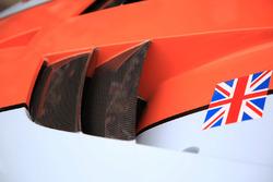 #86 Gulf Racing Porsche 911 RSR detail