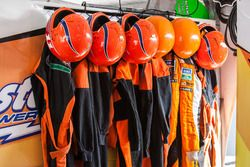 Tire change safety equipment at Castellano Power Team