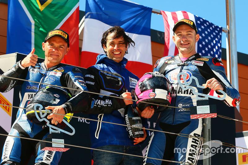 1. Lucas Mahias, GRT Yamaha Official WorldSSP Team; 2. Sheridan Morais, Kallio Racing