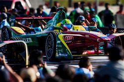 Le vainqueur Lucas di Grassi, ABT Schaeffler Audi Sport