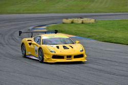 #99 Ferrari of Vancouver Ferrari 488 Challenge: Wei Lu