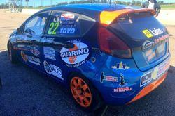Santiago Urrutia pruebas en el Ford fiesta KD