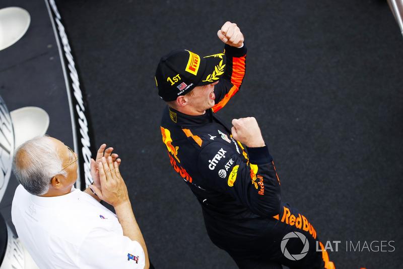 No final, Verstappen garantiu a segunda vitória da carreira.