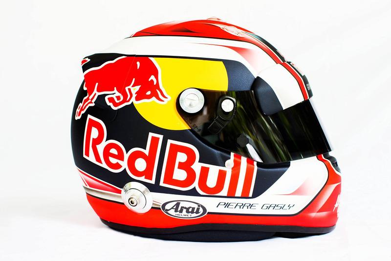 Pierre Gasly'nin kaskı, Scuderia Toro Rosso