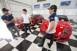 Nelson Piquet Jr. und Pedro Piquet