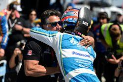 Pole para Takuma Sato, Andretti Autosport Honda, Michael Andretti, Andretti Autosport