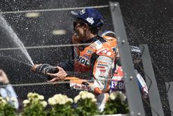 Marc Marquez, Repsol Honda Team, sur le podium