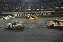 Ray Black Jr., SS-Green Light Racing Chevrolet, Kyle Busch, Joe Gibbs Racing Toyota, Brendan Gaughan