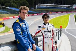 Oliver Rowland, DAMS and Nobuharu Matsushita, ART Grand Prix