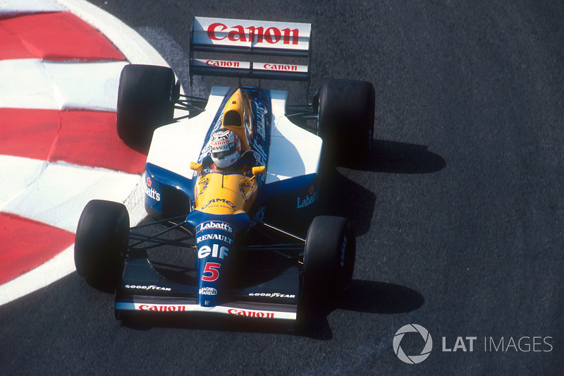 1992 Nigel Mansell, Williams