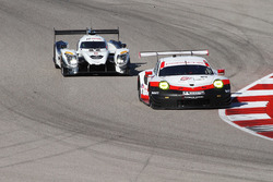 #911 Porsche Team North America Porsche 911 RSR: Patrick Pilet, Dirk Werner, #52 PR1 Mathiasen Motorsports Ligier: Marco Bonanomi, Jose Gutierrez