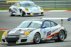 #77 Team NZ Porsche 997: Graeme Dowsett and John Curran