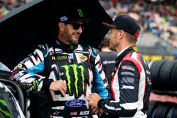 Ken Block, Hoonigan Racing Division, Ford Focus RSRX and Timo Scheider, MJP Racing Team Austria, For