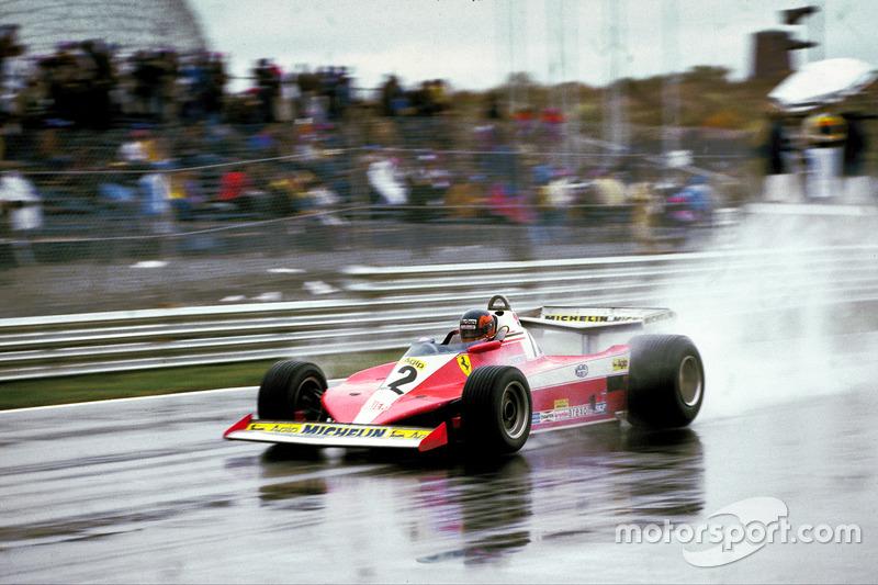 1978年:ジル・ビルヌーブ(フェラーリ)