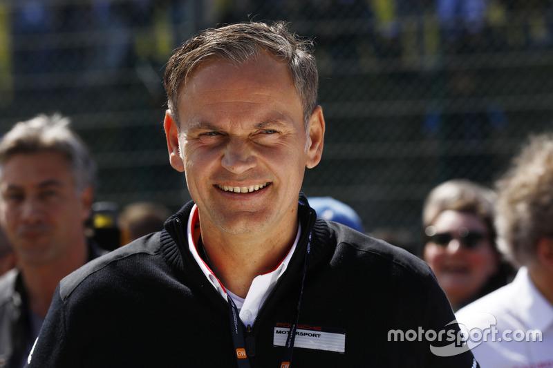 Oliver Blume, Porsche Team